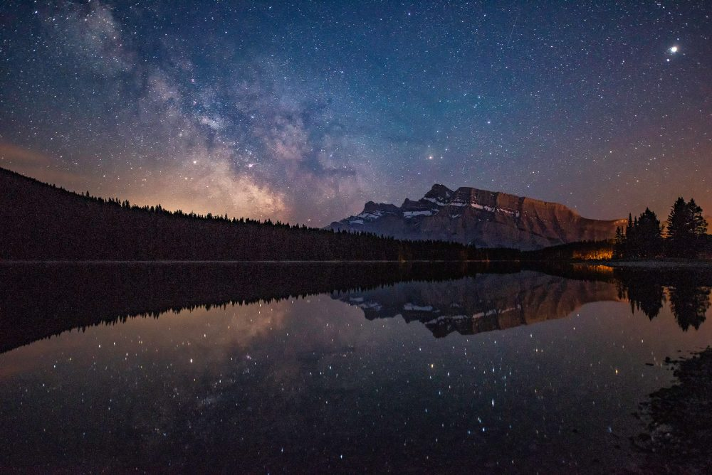 Milkyway Mount Rundle